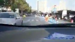 Un portavoz de Ciudadanos se graba conduciendo y saltándose un