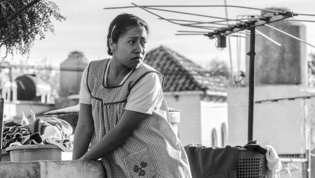 La actriz Yalitza Aparicio intepreta el papel principal de