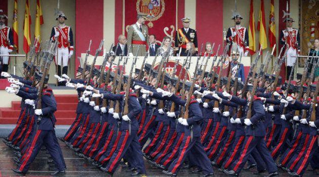 Desfile militar del 12-O en