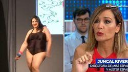 Juncal Rivero, tras ser acusada de gordofobia: