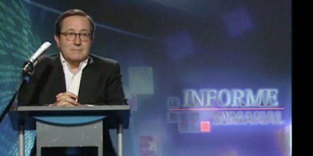 Pedro Erquicia, primer director de 'Informe