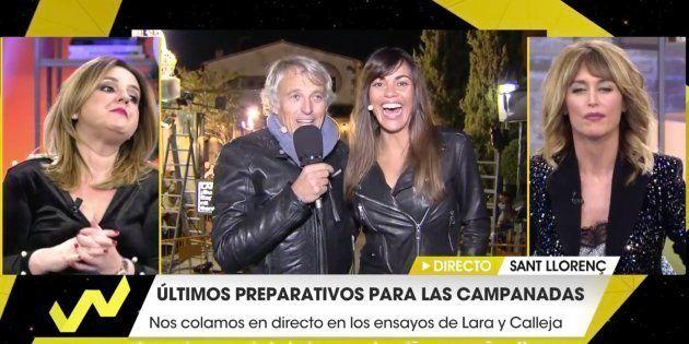 Jesús Calleja y Lara Álvarez conectan en directo con 'Viva la