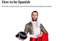 Un tuitero arrasa con su respuesta a 'The Times' por insultar a los españoles en un