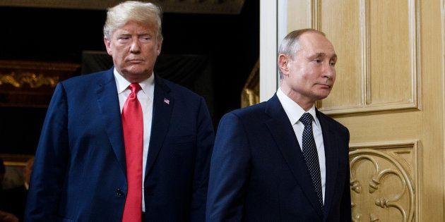 Trump quiere su segunda cumbre con Putin en Washington en
