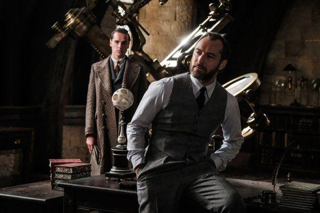 Jude Law como Albus Dumbledore en 'Los crímenes de