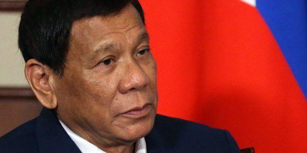 Rodrigo Duterte, en una imagen de archivo durante su visita de 2017 a
