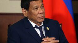 El presidente filipino alardea de que intentó violar a su criada cuando era