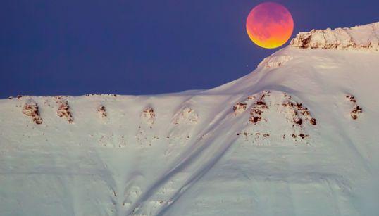 Las fotos más impresionantes de la superluna azul de