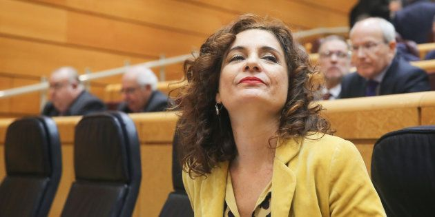 María Jesús Montero, el pasado 27 de diciembre en el
