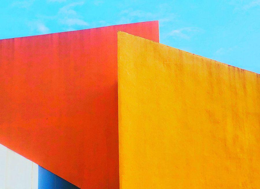 Segundo puesto. 'La unión de colores'. Mall of Asia, Filipinas. Hecha con un iPhone