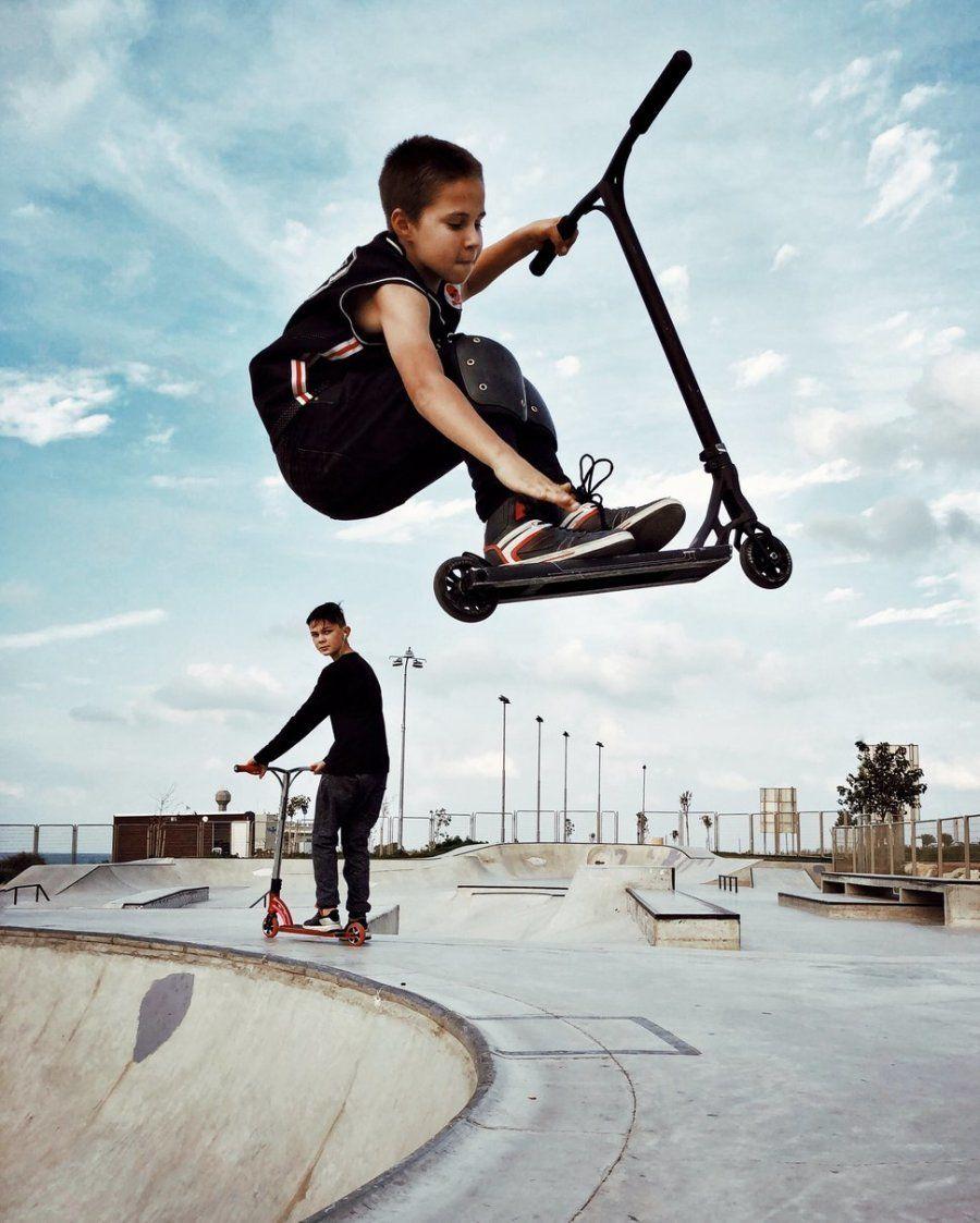 Segundo puesto. 'Aire'. Skate park, Haifa, Israel. Con iPhone