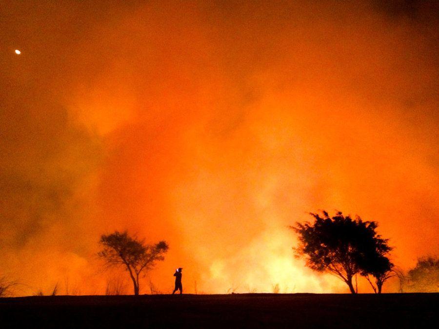 Segundo puesto. 'El calor'. Betim, Brasil. Hecha con un iPhone