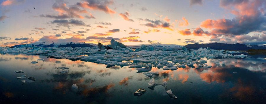 Primer puesto. 'Icebergs'. Islandia. Hecha con un iPhone 6