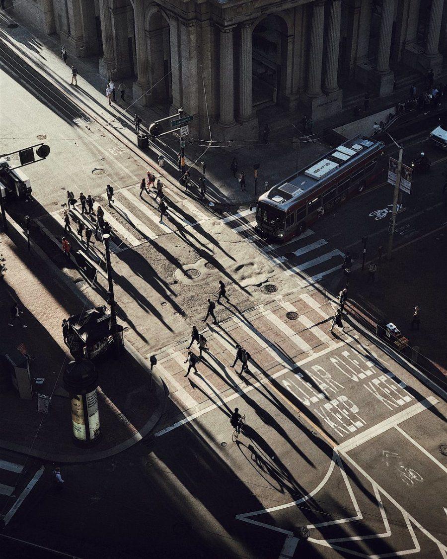 Segundo puesto. 'Cazando la luz'. San Francisco, EE UU. Con un iPhone 7