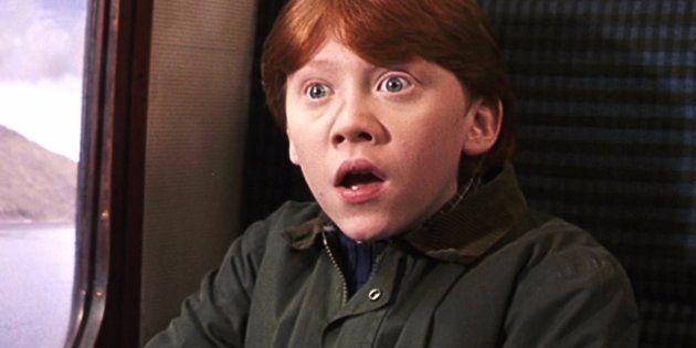 Rupert Grint (Ron Weasley) no puede ver las películas a partir de ...