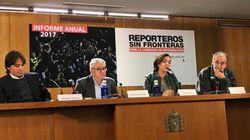 Informe anual de Reporteros sin Fronteras: la prensa vivió meses negros en 2017 en