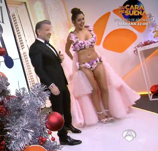 El vestido de Cristina Pedroche en las campanadas de