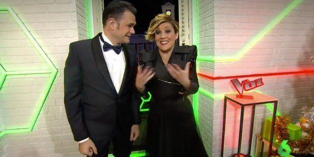 Iñaki López y Cristina Pardo, presentadores de las campanadas de