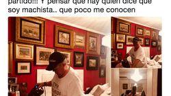 Arévalo publica una foto de su casa y una tuitera le saca esta brutal