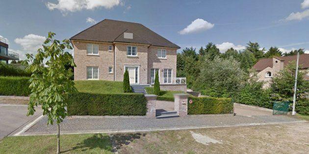 Imagen de la casa supuestamente alquilada por Carles Puigdemont, según