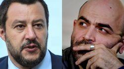 Salvini demanda al escritor Saviano, crítico con su política