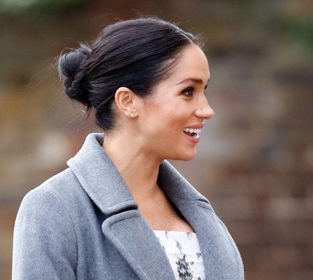 La duquesa de Sussex, el 18 de diciembre de