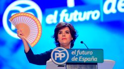 Santamaría pide respetar que fue la más votada por las bases y ofrece