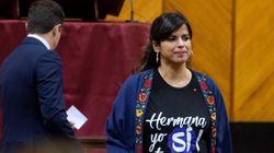 Teresa Rodríguez critica la