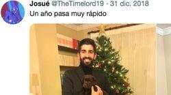 La genial (y viral) foto de un perro y su dueño que demuestran lo rápido que pasa un