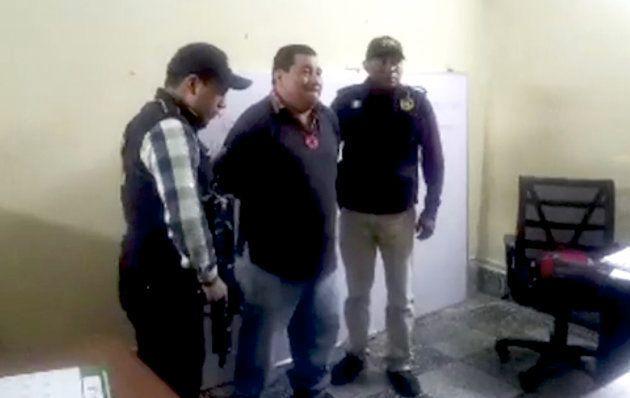 Imágenes de la detención de Bernardo