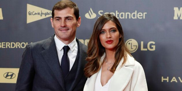 Iker Casillas y Sara Carbonero, en el 80º aniversario de 'Marca' el 13 de diciembre de 2018 en
