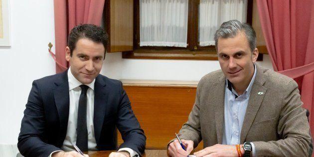 Teodoro García y Javier Ortega
