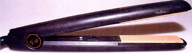 Claudia's GHD hair straighteners were missing from her
