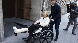 El tierno detalle del hospital con Carmena en Nochevieja: