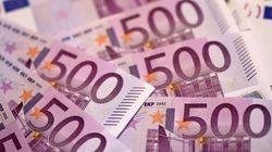 Cada vez hay menos billetes de 500 euros en la