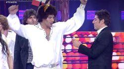 El divertido momento del homenaje a Eurovisión en 'Tu Cara Me