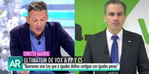 Ortega Smith y Joaquín Prat en 'El programa de Ana