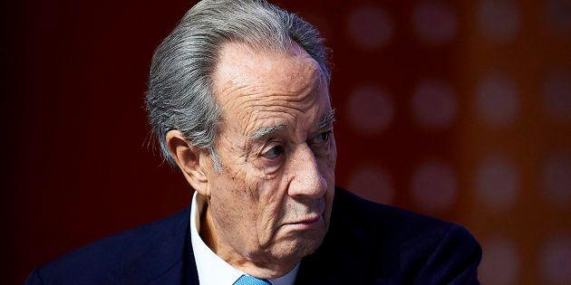 Juan Miguel Villar Mir, en una imagen del pasado