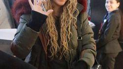 Shakira agradece el apoyo a sus fans haciendo lo que mejor sabe