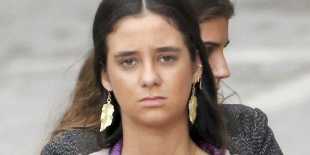 Victoria Federica, en octubre de 2018 en