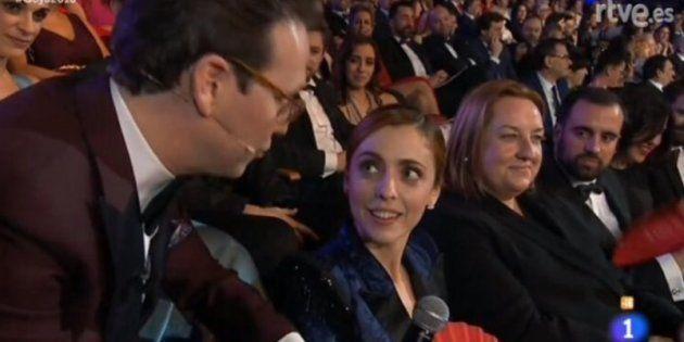 Aplauso a Leticia Dolera por su pulla feminista a Joaquín
