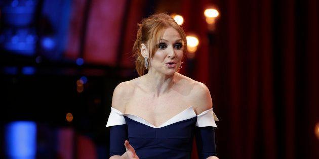 La actriz Cristina Castaño, durante la 32ª edición de los Premios