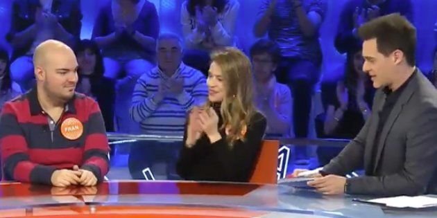 Fran, Silvia Abascal y Christián Gálvez en