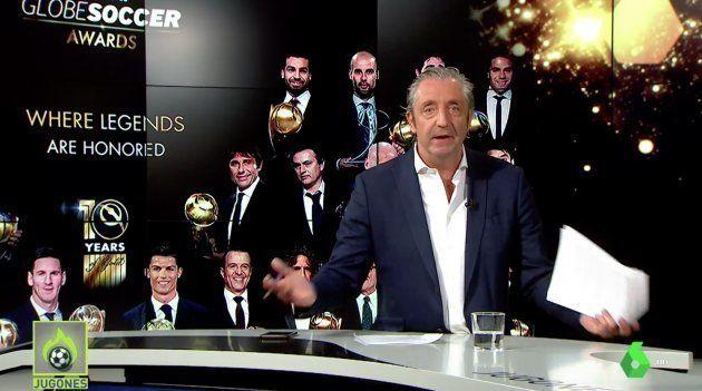 Josep Pedrerol, presentador de 'Jugones' de