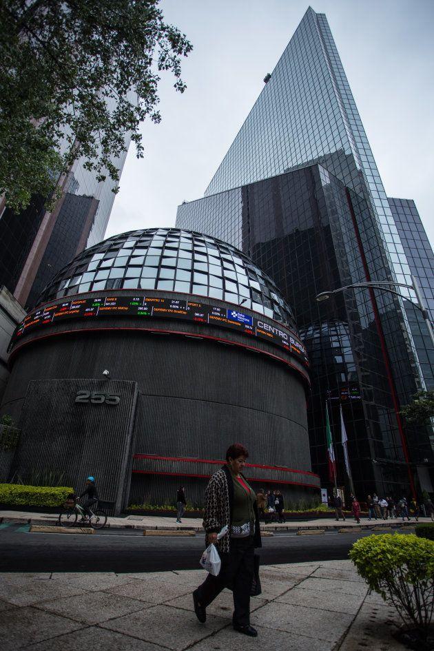 Edificio de la Bolsa Mexicana de Valores en Paseo de la Reforma. FOTO: ADOLFO VLADIMIR