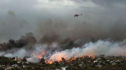 Al menos 80 muertos y 187 heridos en los graves incendios que arrasan