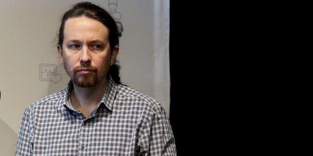 El líder de Podemos y secretario general, Pablo