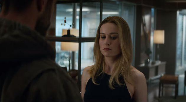 '어벤져스: 엔드게임' 새 예고편에 캡틴 마블이