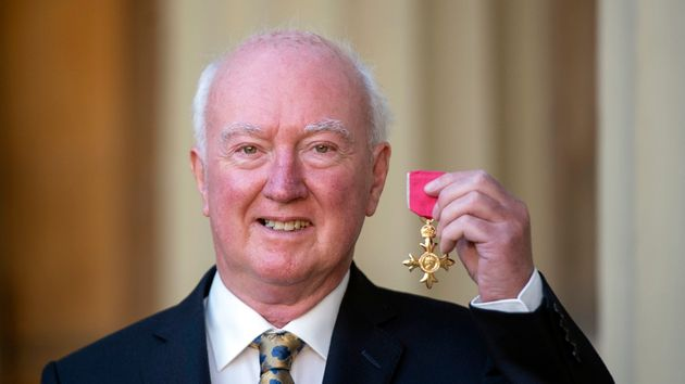 Peter Lawrence was awarded an OBE for his services to the families of missing