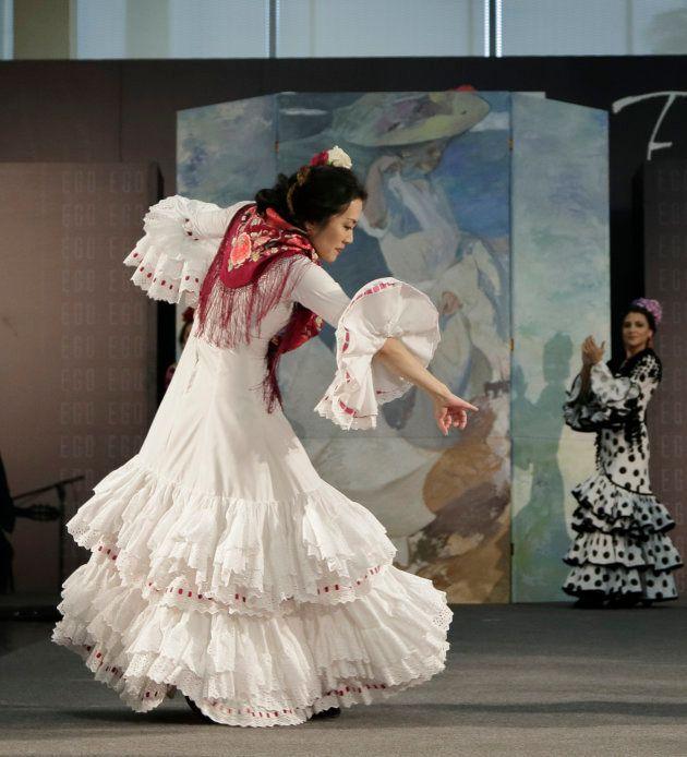 Lourdes Montes crea el primer vestido de flamenca